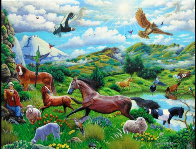 Los animales juegan, corretean son expresiones que podemos apreciar solo cuando tienen un espacio en donde se sienten libres